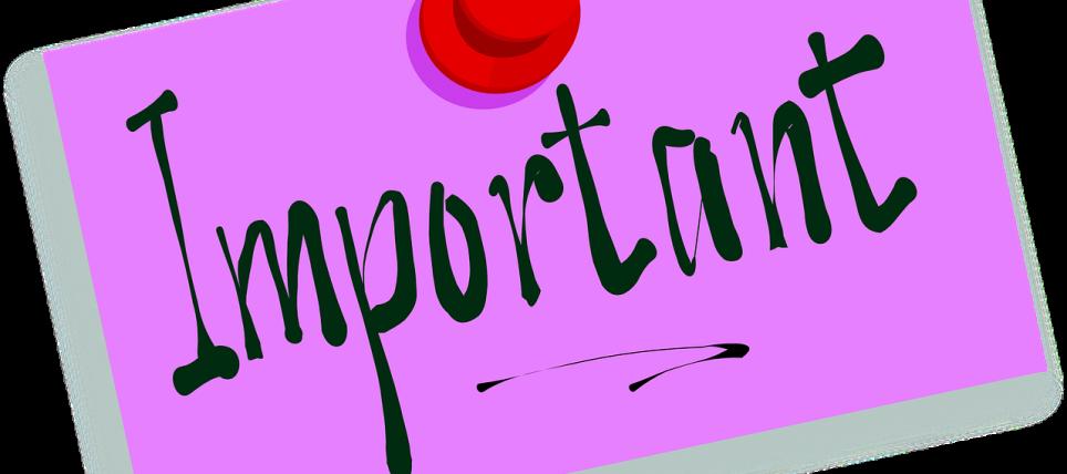 Vigtigt!: Ændring i turneringsplanerne