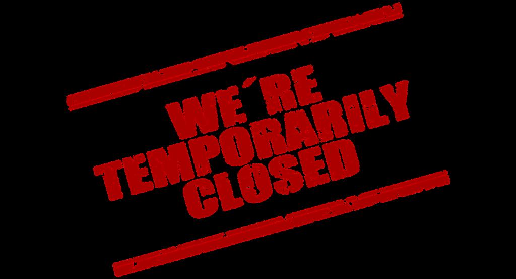 Lukket i 4 uger